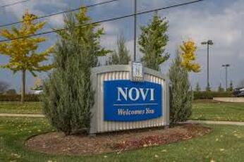 City of Novi Sign